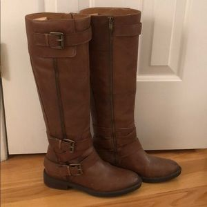 Brand New Enzo Angiolini Brown Knee High Boots 6.5